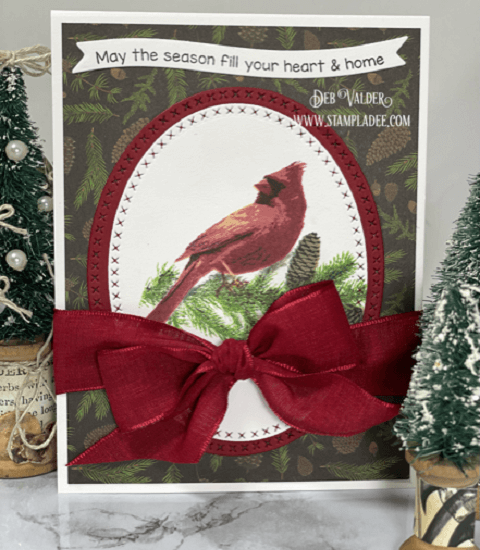 Cardinal Songbirds for Christmas. All products can be found in our Teaspoon of Fun Shop at www.TeaspoonOfFun.com/SHOP