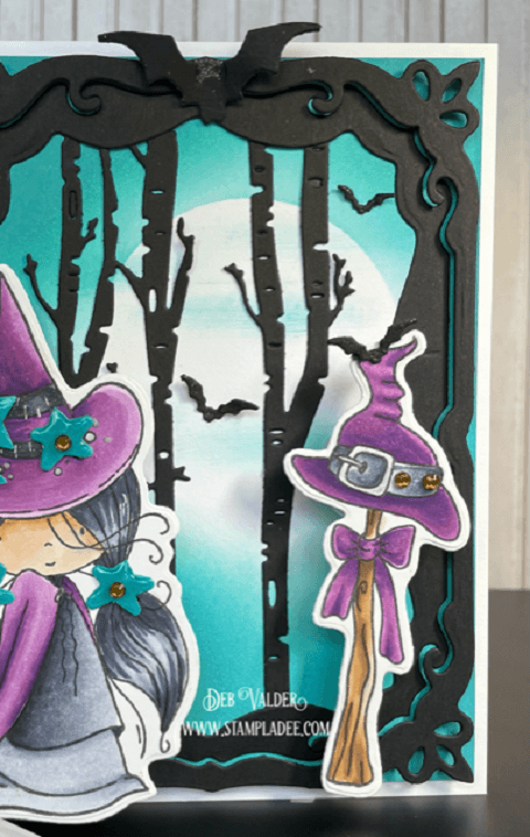 Grab that Broomstick Girls for a Happy Halloween. All products can be found in our Teaspoon of Fun shop at www.TeaspoonOfFun.com/SHOP