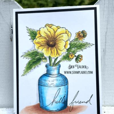Vintage Blooms with Deb Valder