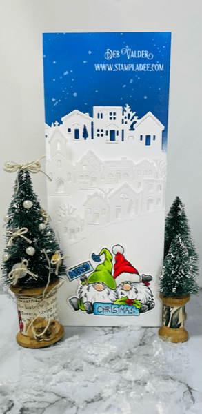 Fancy Village Holiday and Gnome Combo. All products can be found in our Teaspoon of Fun Shop at www.TeaspoonOfFun.com/SHOP.