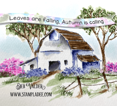 Leaves are Falling Autumn is Calling with Deb Valder