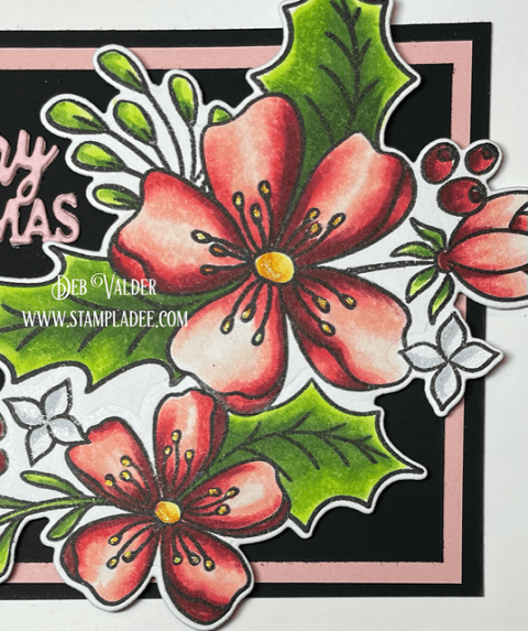 The New Christmas Rose. All products can be found in our Teaspoon of Fun shop at www.TeaspoonOfFun.com/SHOP