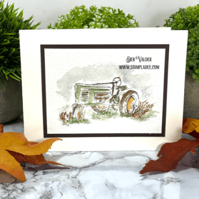 Vintage Fall Note Cards with Deb Valder