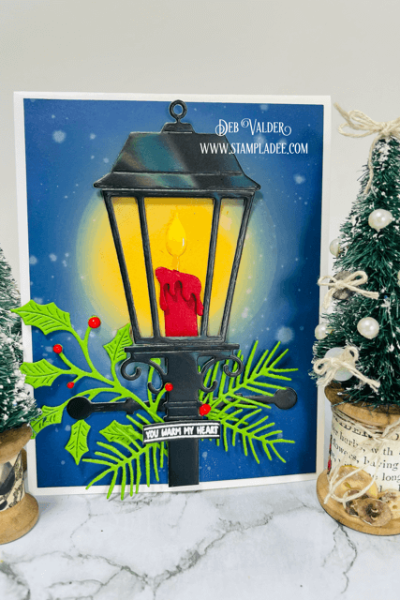 Glowing Christmas Lantern. All products can be found in our Teaspoon of Fun Shop at www.TeaspoonOfFun.com/SHOP